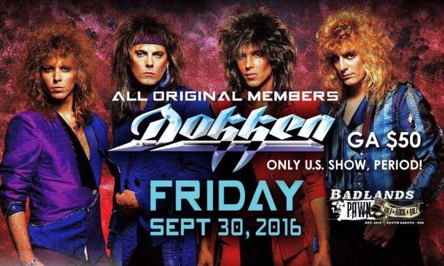DOKKEN's Original Line-up Played 1 US Show and There's a Full Video!!