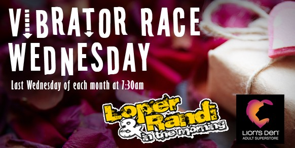 Vibrator Race Wednesday