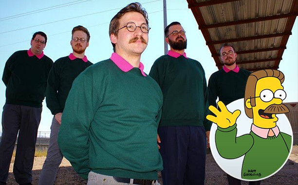 Ned Flanders Inspired Metal Band