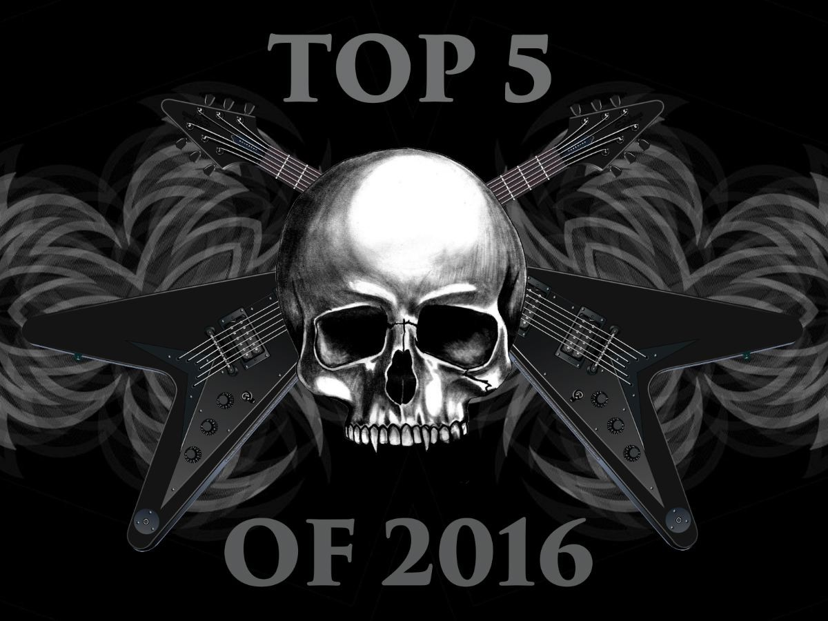 Top Five Favorite Songs Of 2016
