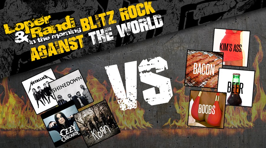Loper & Randi's Blitz Rock Against the World