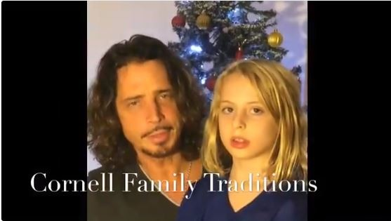 Chris Cornell's Widow Posted Christmas Home Video with Him And His Son