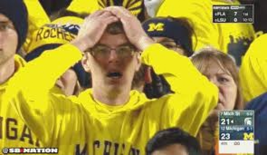 Crushed Hopes at The Big House