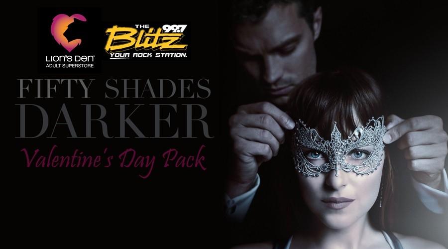 50 Shades Darker V-Day Pack