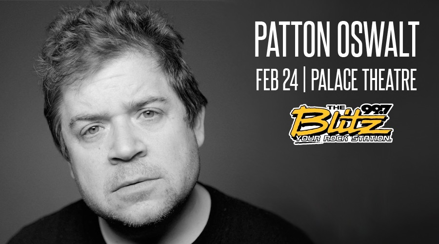 Win Tix to See Patton Oswalt