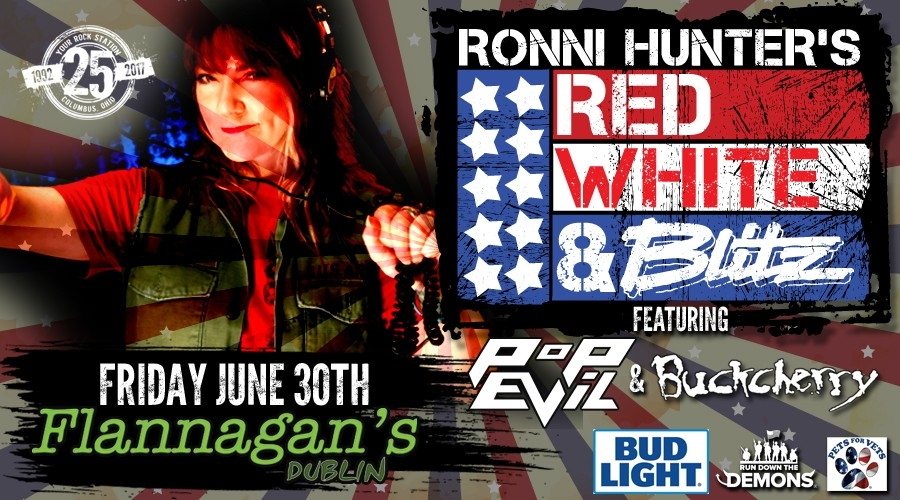 Ronni Hunter's Red, White, & Blitz!