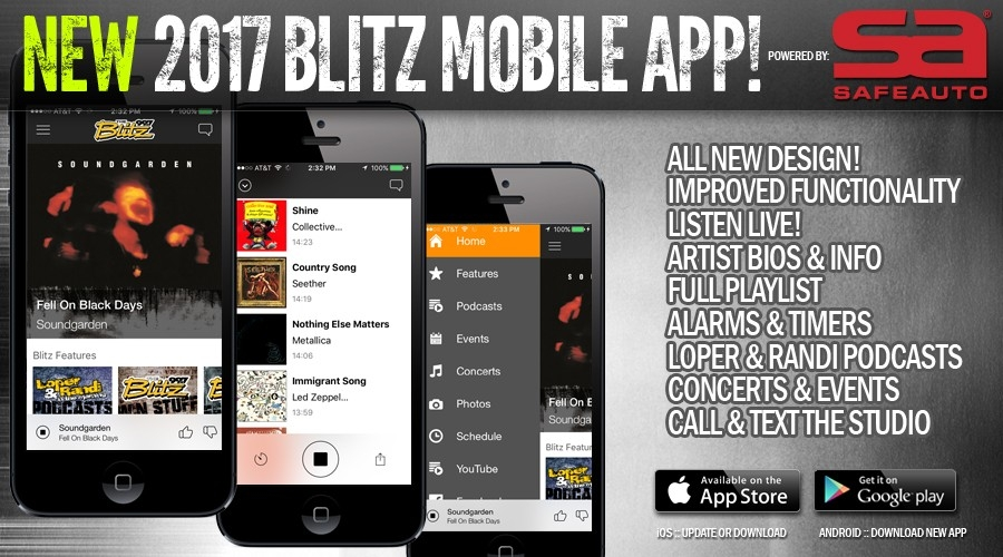 NEW 2017 Blitz Mobile App