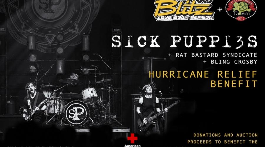 Sick Puppies Hurricane Benefit