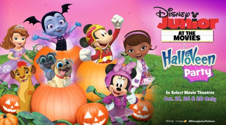 Win Disney Halloveen Movie Passes