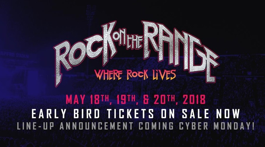 Rock on The Range Lineup Announced Cyber Monday