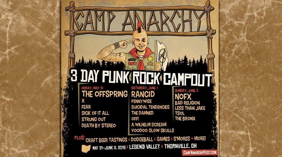 Win Camp Anarchy Weekend Passes