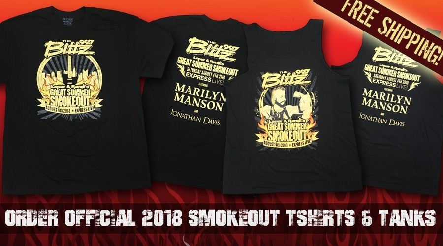 Smokeout T-shirts & Tanks Now Available!