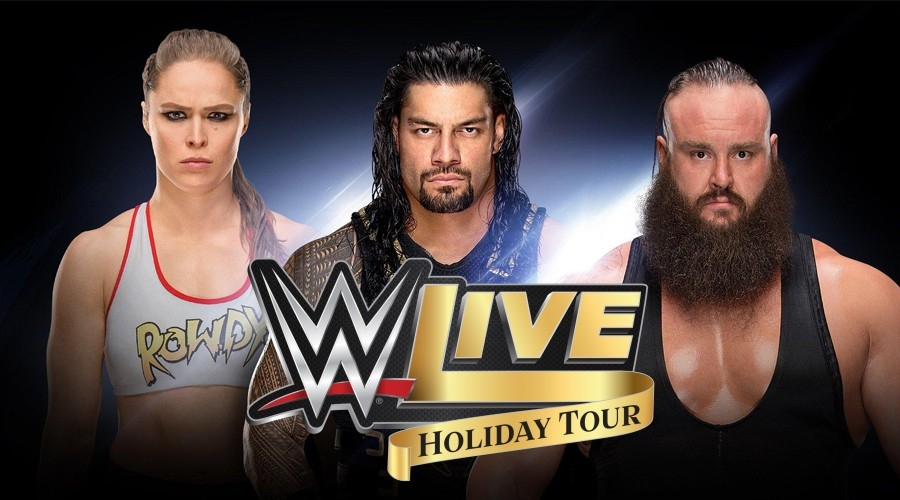 Win WWE Live Holiday Tour Tix