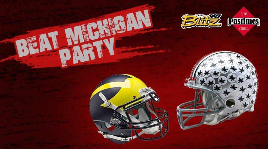 Beat Michigan Party
