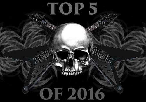 Top Five Favorite Songs Of 2016