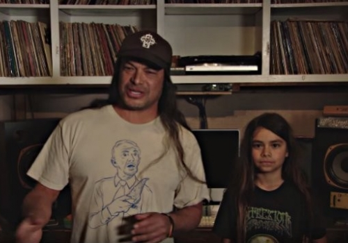 KoRn's New 12-Year-Old Bassist
