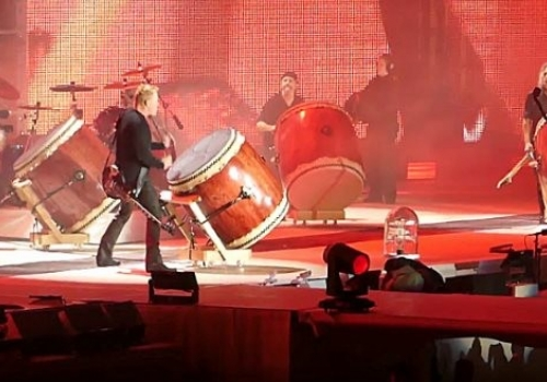 Check Out Metallica's Four-Man Drum Jam