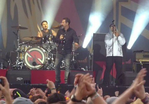 Serj Tankian w/Prophets of Rage performing
