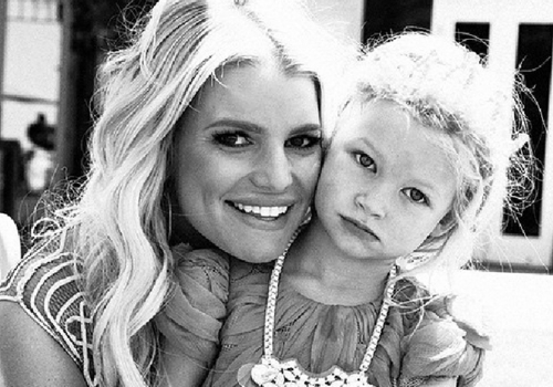 Jessica Simpson Mom Shamed For Instagram Pictures of Her 5 Year Old Daughter