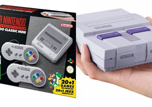 Mini SNES looking to be released some time this September