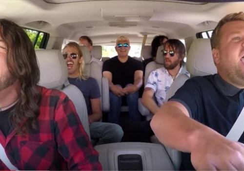 Foo Fighters On 'Carpool Karaoke