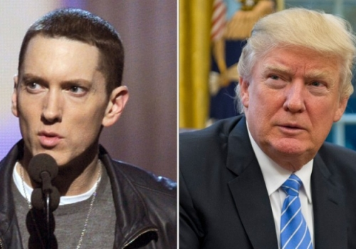 Eminem Calls Out President Trump With A Freestyle