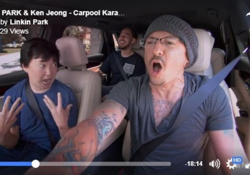 Linkin Park's 'Carpool Karaoke' Episode Released