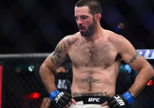 UFC fighter, Matt Brown, at the Blitz