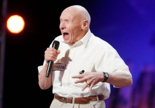 82 Year Old Stuns Audiences