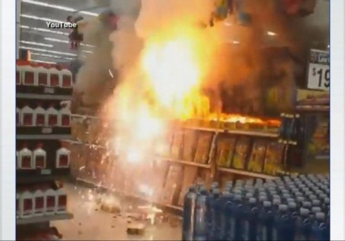 Phoenix Wal-Mart loves Fireworks...