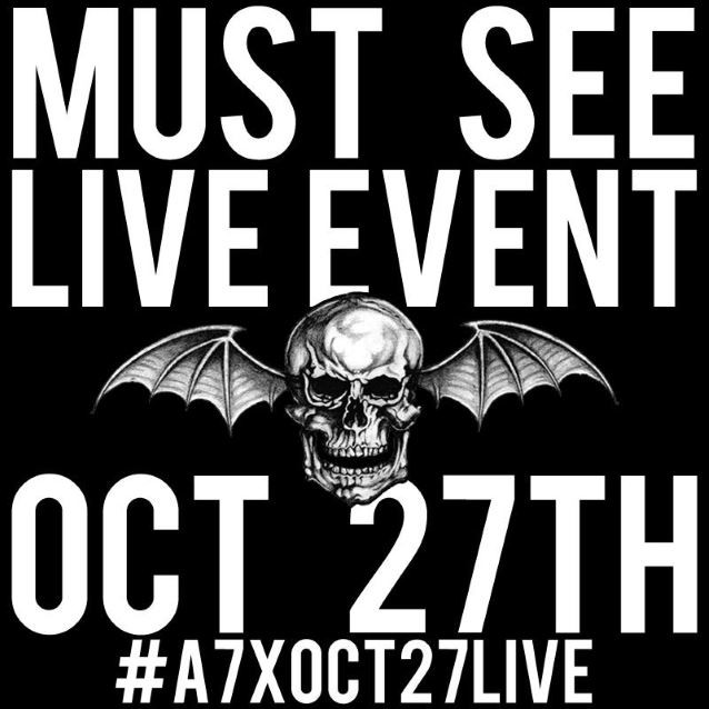 A7X Live This Thursday on Your Phone!