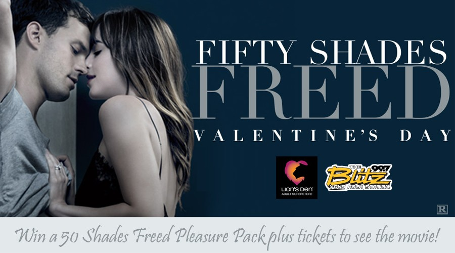 Fifty Shades Freed Pleasure Pack