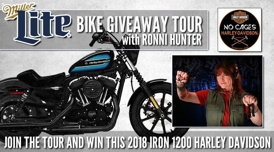 Miller Lite Bike Giveaway Party with Ronni Hunter