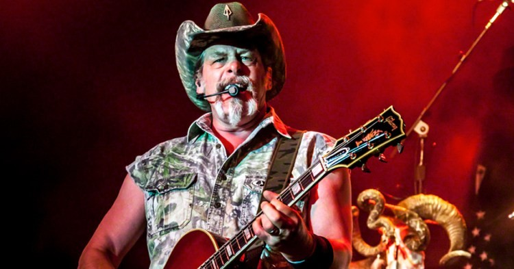 Ted Nugent is Not a Happy Dude...