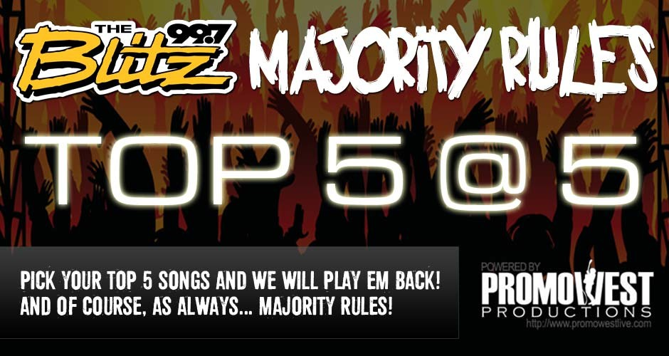 The New Majority Rules: Top 5 @ 5!