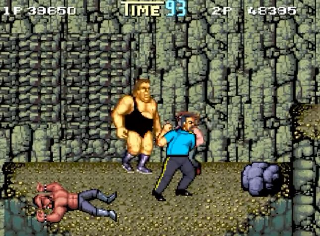 Play Double Dragon with 80's WWF Wrestlers (Free Download) - 99 7