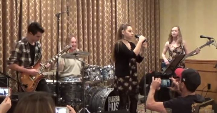 "Danny Carey of Tool Fills in for ""The Pot"" During a Charity Event (Video)"