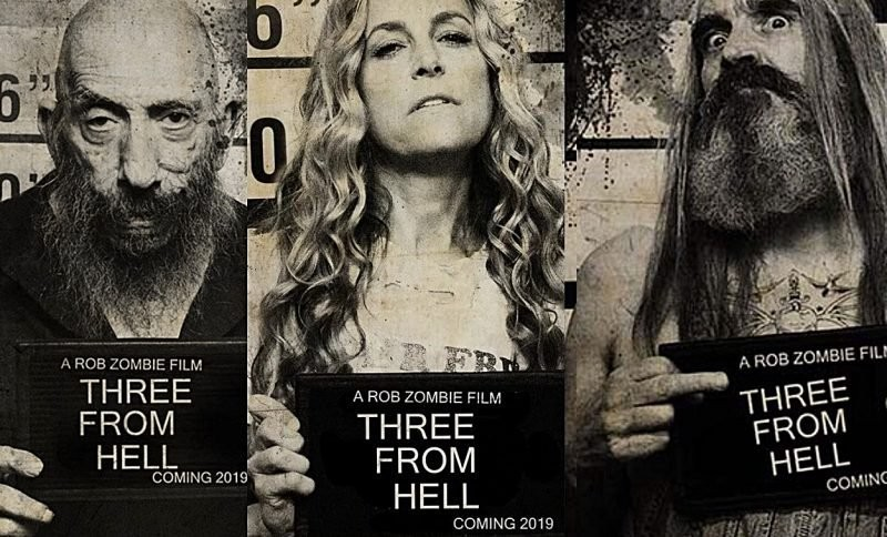 "Rob Zombie's new movie ""3 from Hell"" set to release this fall."