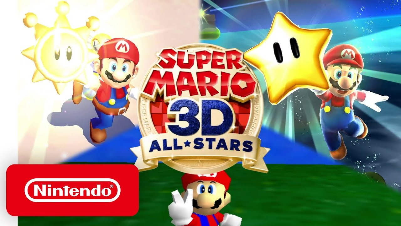 Super Mario 3D All-Stars - Announcement Trailer - Nintendo Switch -