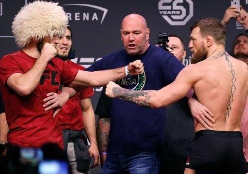 Khabib vs. McGregor Fight,…