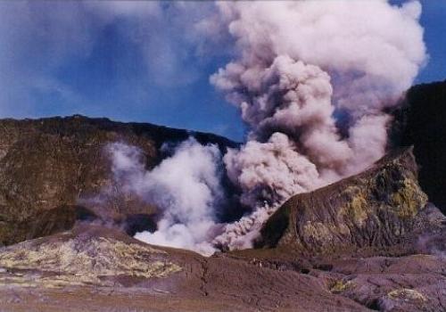 White Island Volcano eruption!!