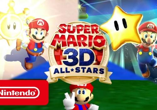 Super Mario 3D All-Stars…
