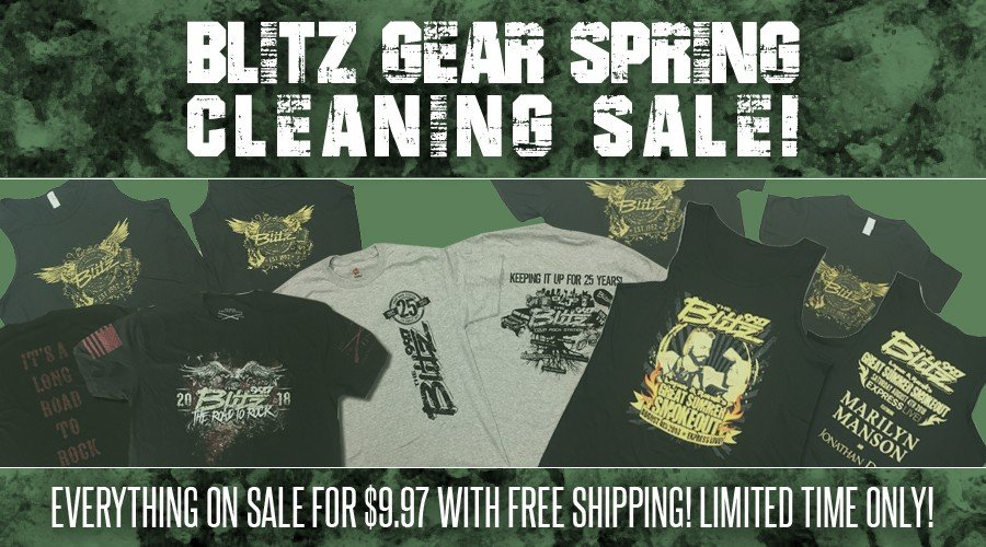 Blitz Spring Cleaning Sale!