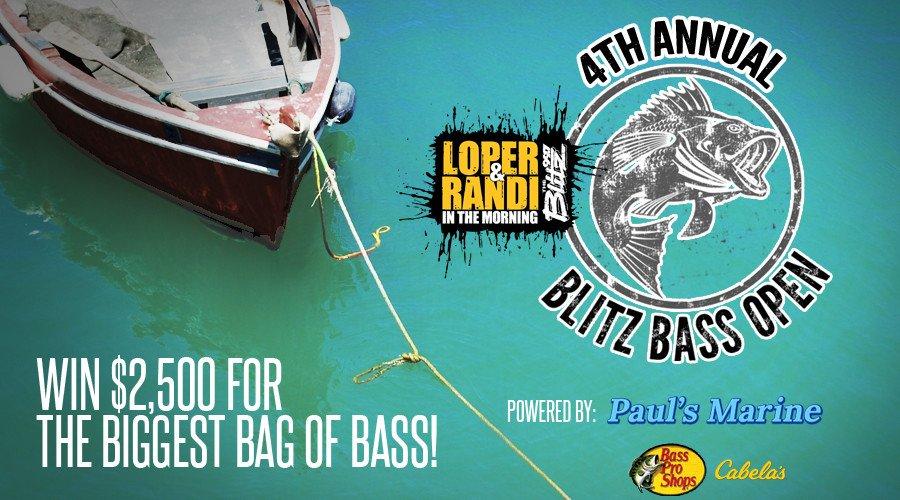 4th Annual Blitz Bass Open