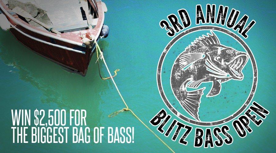 3rd Annual Blitz Bass Open