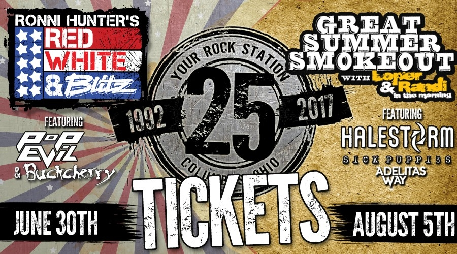 25th Anniversary Shows TICKETS