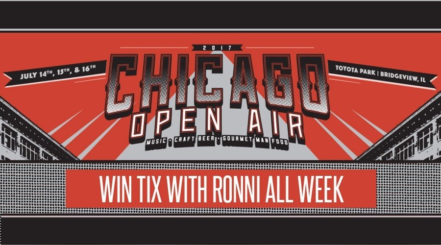 Win Tix to Chicago Open Air