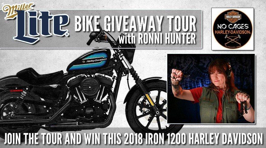 Miller Lite Bike Tour with Ronni Hunter