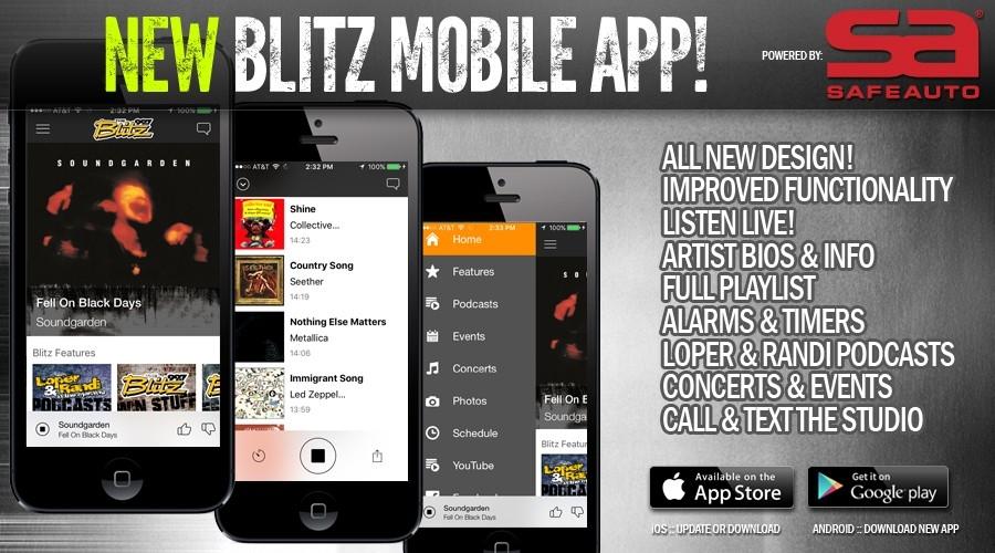 NEW Blitz Mobile App