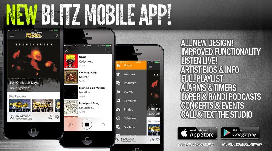 NEW Blitz Mobile App